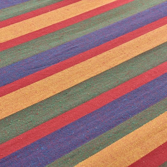 [casa.pro]® Katoenen hangmat - meerkleurig