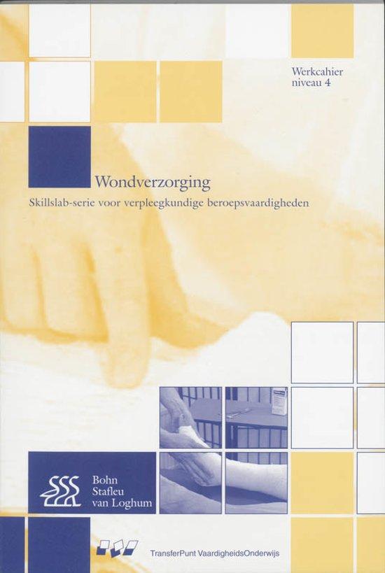 Wondverzorging Niveau 4 MBO deel Werkcahier CD Rom