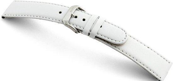 Rios1931 Horlogeband -  Arizona Wit - Leer - 20 mm