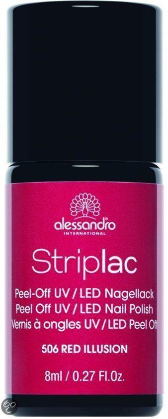 Alessandro Striplac - 506 Red Illusion - Gelnagellak