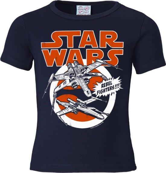 Logoshirt T-Shirt X-Wings - Krieg der Sterne
