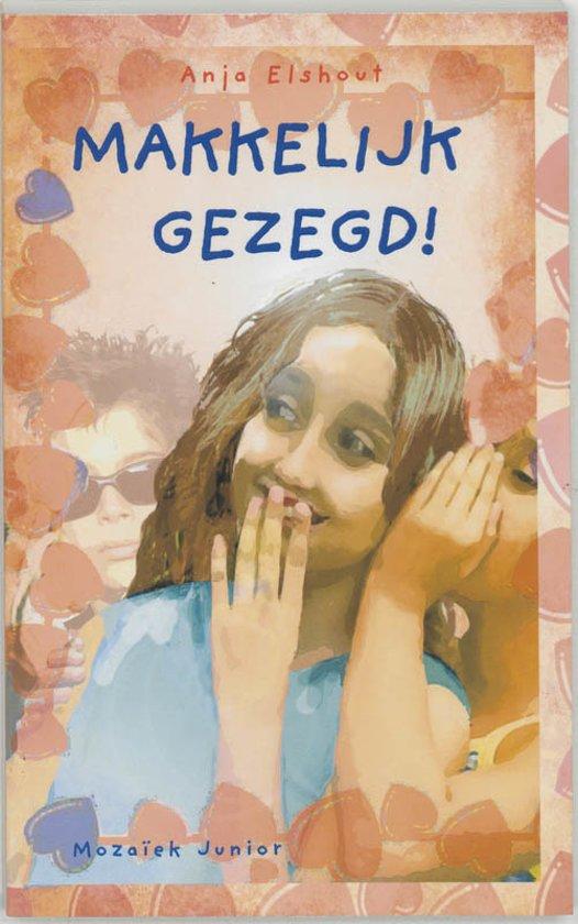 Cover van het boek 'Makkelijk gezegd !' van A. Elshout