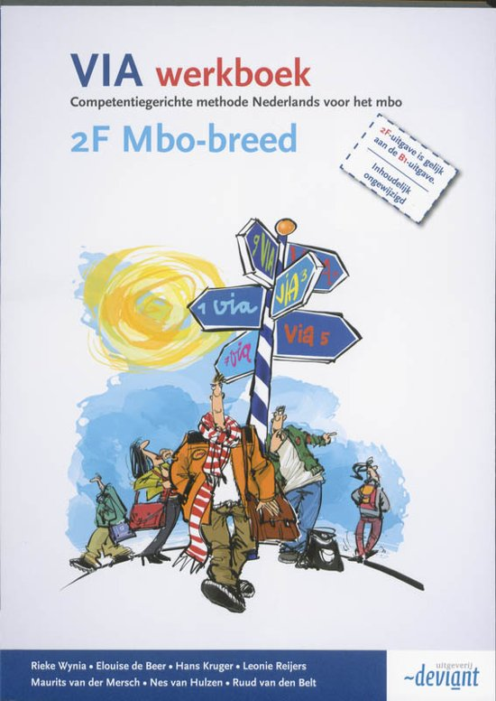 VIA / 2F MBO-breed / deel Werkboek