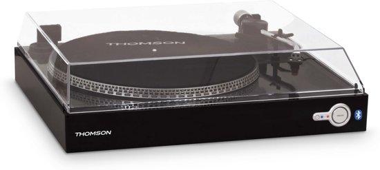 Thomson TT200 Platenspeler - 33 & 45 Toeren/Bluetooth - Zwart
