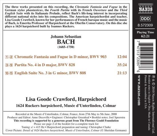 Bach: Chromatische Fantasia