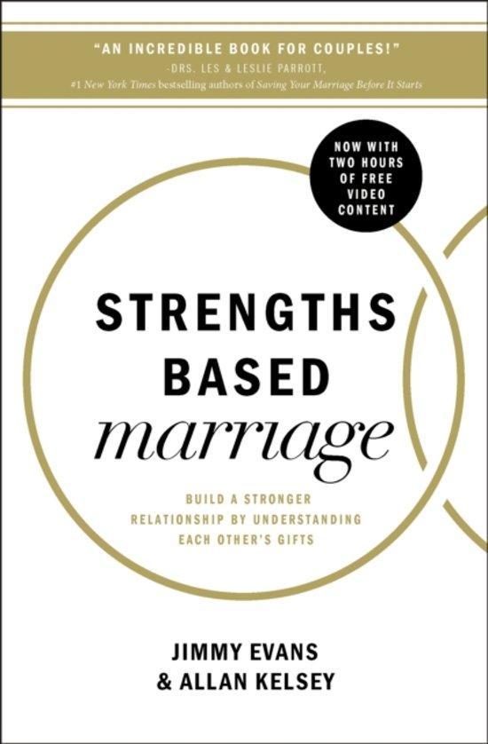 Boek cover Strengths Based Marriage van Jimmy Evans (Paperback)