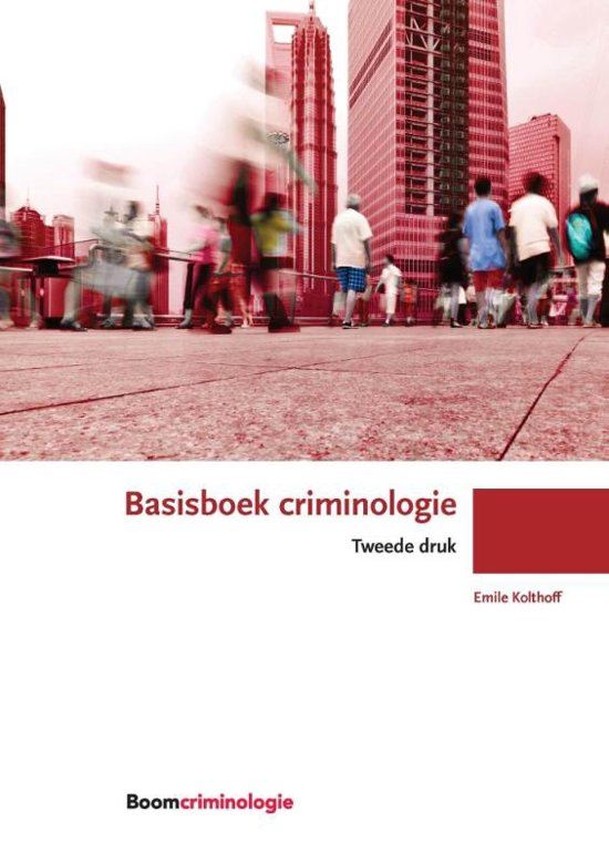 Boom studieboeken criminologie Basisboek criminologie