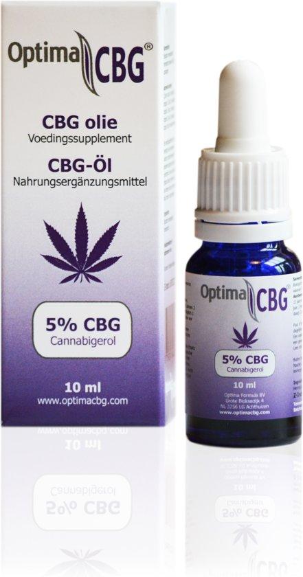 Optima CBG olie 5%, BIO, GMP
