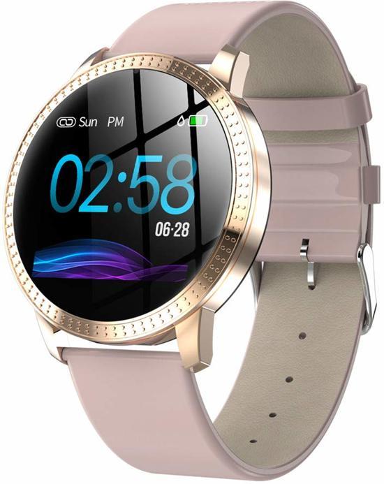SmartWatch-Trends CF18 - Smartwatch - Roze