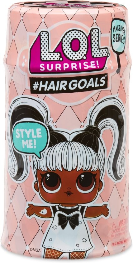 L.O.L. Surprise bal #Hairgoals - Makeover Series 1A