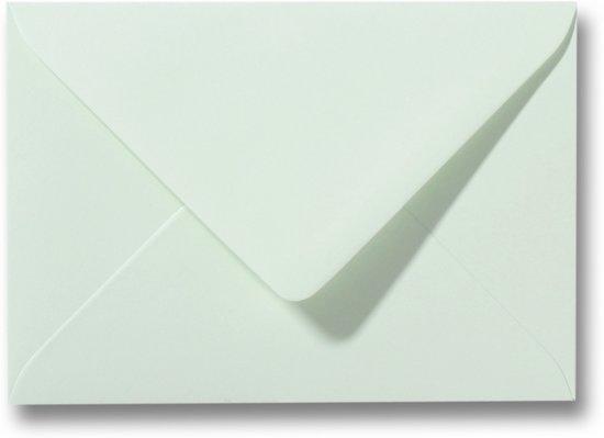 Envelop 8 x 11,4 Lichtgroen, 25 stuks