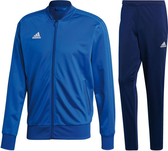 adidas Condivo Trainingspak Heren Trainingspak - Maat S - Mannen - blauw