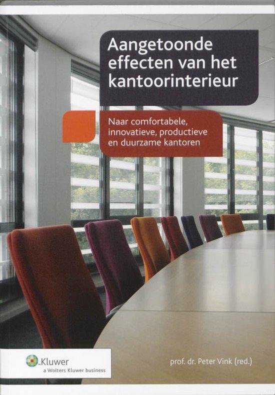 Boekomslag voor Effecten van het kantoorinterieur