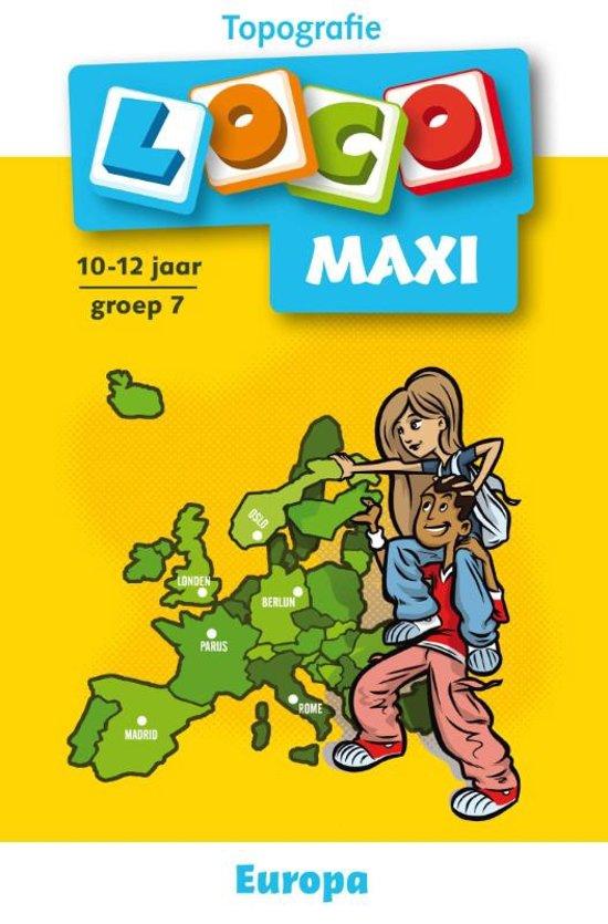 Loco Maxi / Topografie Europa
