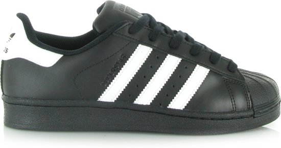 adidas Superstar Foundation Sneakers - Maat 40 2/3 - Mannen - zwart/wit
