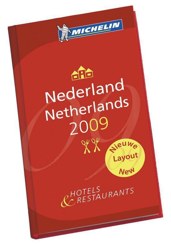 Cover van het boek 'Rode Michelin Nederland 2009'