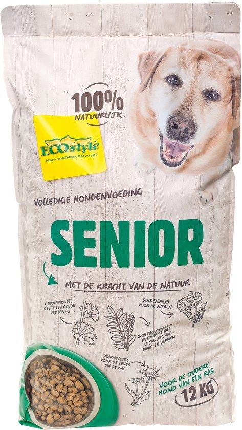 Ecostyle hondenvoeding Senior 12 kg