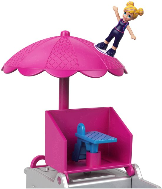 Polly Pocket - Zwemfeestje - Dual scale