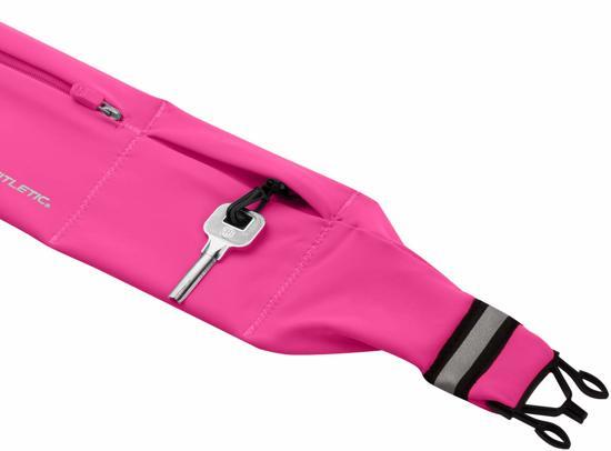 Fitletic 360 Sport Heupriem met 3 vakken - maat Medium - Pink