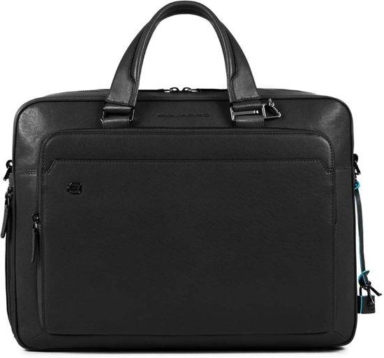 Piquadro Inch 15 Black Briefcase Square kOPiTwXuZ