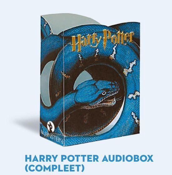 Harry Potter Monsterbook en 10 MP3-CD's