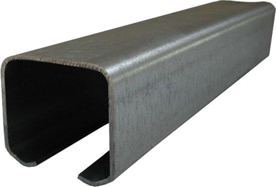 Bovenrail Henderson type Husky - lengte 4m - voor bedrijfsruimten