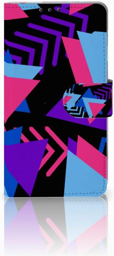 Sony Xperia Z1 Bookcase Design Funky Triangle