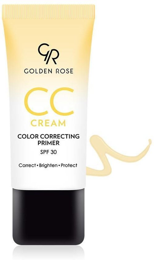 CC CREAM COLOR CORRECTING PRIMER YELLOW - GOLDEN ROSE