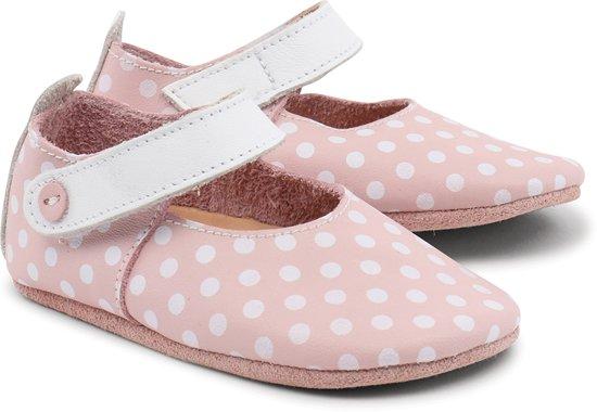 Bobux - Soft Soles - Blossom/white spots/white trims mary jane - Babyslofjes - EU 18