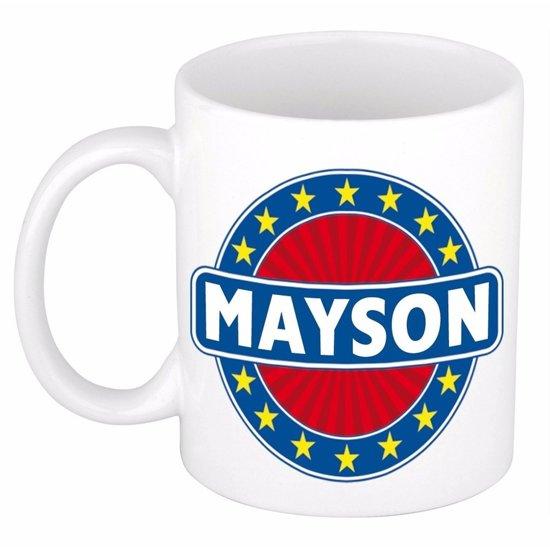 Mayson naam koffie mok / beker 300 ml  - namen mokken