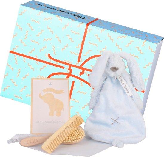 Geboortebox Basic Jongen - Kraam Cadeau - incl. Geschenkverpakking