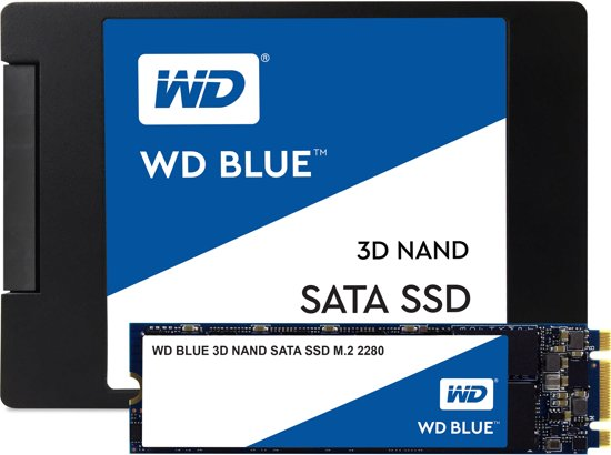 WD Blue 3D NAND 500GB 2,5 inch