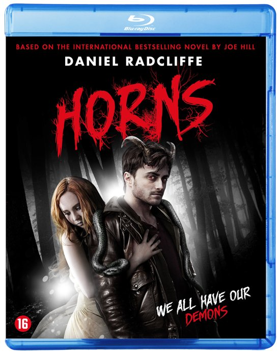 DVD cover van Horns (Blu-ray)