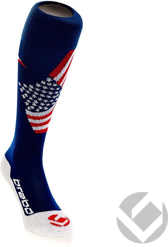Brabo Socks - Hockeysokken - Junior - USA