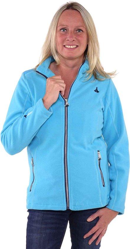 mode stijl goede textuur beschikbaar bol.com   Bjørnson Fleece Vest Winddicht Dames Blauw Atol ...