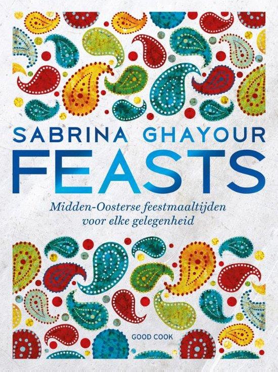Boek cover Feasts van Sabrina Ghayour (Hardcover)
