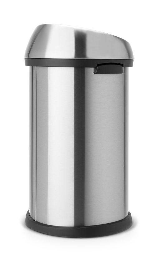 Brabantia Touch Bin 50 Liter Rvs.Brabantia Touch Bin Prullenbak 50 L Mat Rvs Fpp