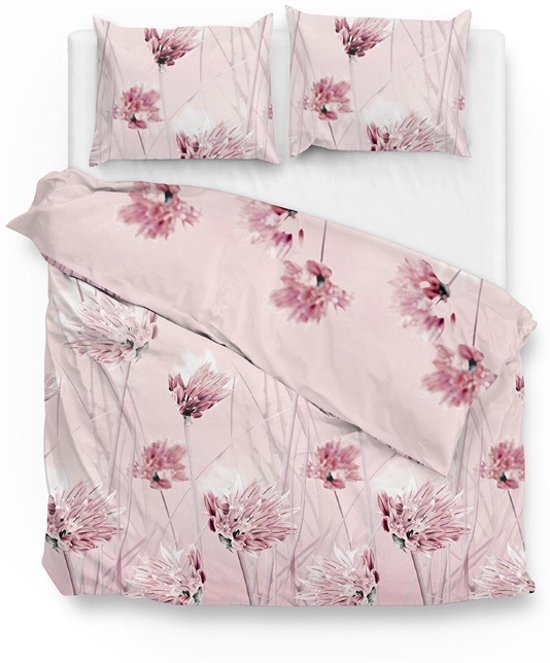 ZoHome Nancy Dekbedovertrek - Litsjumeaux - 240x200/220 cm - Pink