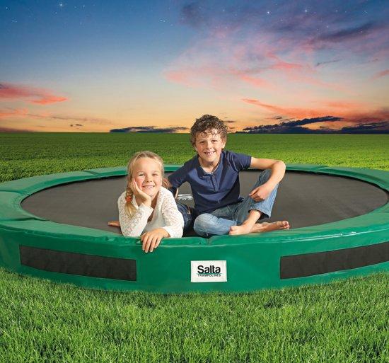 Salta Excellent Ground 251 cm Groen - Trampoline