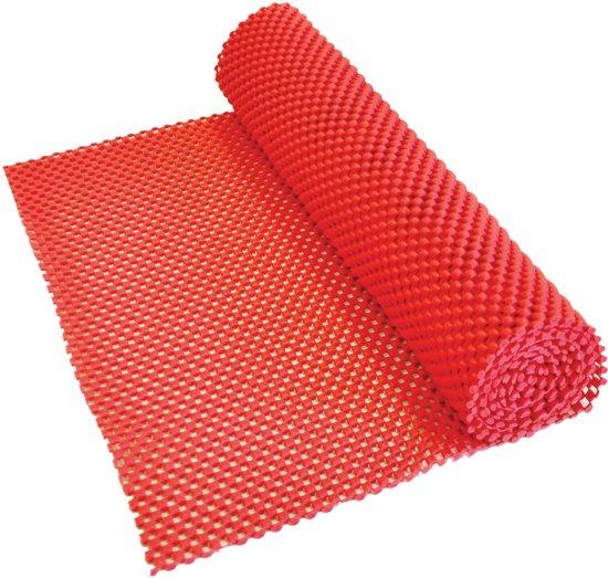 Anti Slip Matje.Aidapt Anti Slip Mat Rood Voor Lade Dienblad Vloer