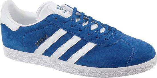 adidas Gazelle Sneakers Heren Collegiate RoyalWhiteGold Metallic