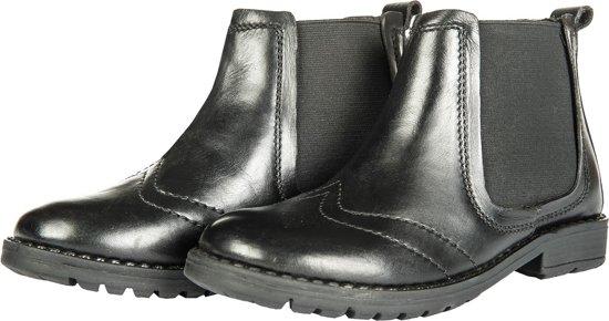 Kinder jodhpur schoen, leer zwart 30