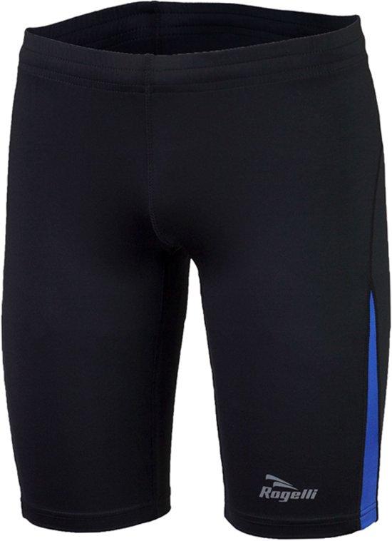 Rogelli Dixon Runningshort  Hardloopbroek - Maat L  - Mannen - zwart/blauw
