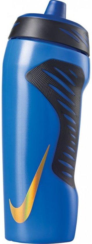 Nike Bidon Hyperfuel - 0.5L Blauw/Goud