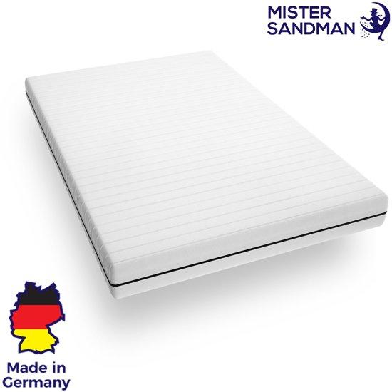 Matras - 80x190 - 7 zones - koudschuim - premium plus tijk - 15 cm - twijfelaar bed