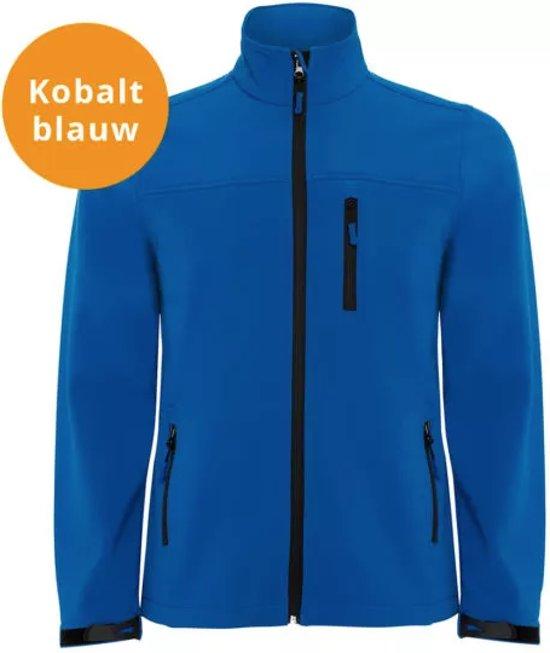 Softshell Kobalt Xxl Jas Maat Blauw Heren 1R6aP