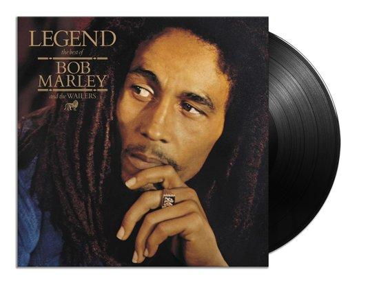 CD cover van Legend - The Best Of van Bob & The Wailers Marley