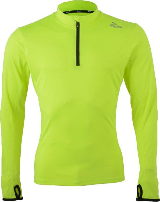 Rogelli Campton Sportshirt - Maat XL  - Mannen - geel