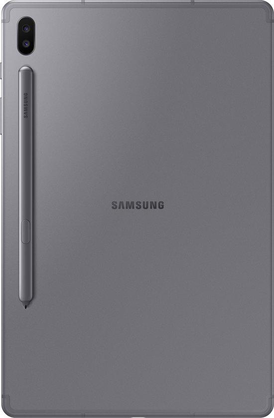 Samsung Galaxy Tab S6 128GB Wifi + 4G Grijs