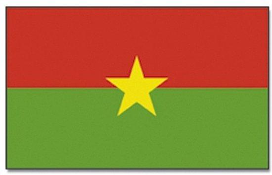 Vlag Burkina Faso 90 x 150